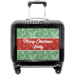 Christmas Holly Pilot / Flight Suitcase (Personalized)