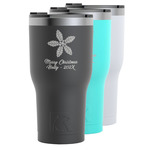 Christmas Holly RTIC Tumbler - 30 oz (Personalized)