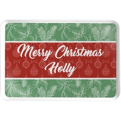 Christmas Holly Serving Tray (Personalized)