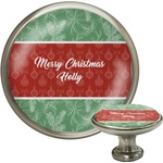 Christmas Holly Cabinet Knobs (Personalized)