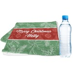 Christmas Holly Sports & Fitness Towel (Personalized)