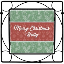 Christmas Holly Trivet (Personalized)