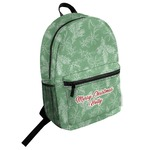 Christmas Holly Student Backpack (Personalized)