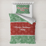 Christmas Holly Toddler Bedding w/ Name or Text