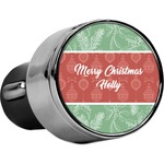 Christmas Holly USB Car Charger (Personalized)