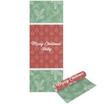 Christmas Holly Yoga Mat - Printable Front and Back (Personalized)