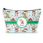 Christmas Monkeys Makeup Bags (Personalized)