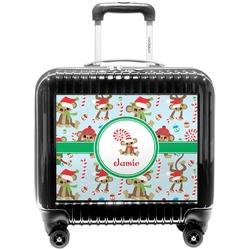 Christmas Monkeys Pilot / Flight Suitcase (Personalized)