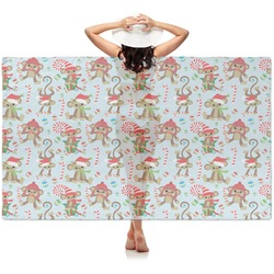 Christmas Monkeys Sheer Sarong (Personalized)