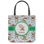 Christmas Monkeys Canvas Tote Bag (Personalized)