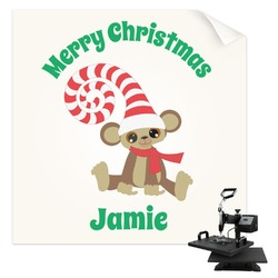 Christmas Monkeys Sublimation Transfer (Personalized)