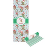 Christmas Monkeys Yoga Mat - Printable Front and Back (Personalized)