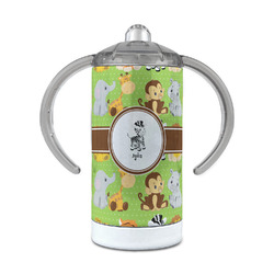 Safari 12 oz Stainless Steel Sippy Cup (Personalized)