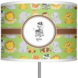 """Safari 13"""" Drum Lamp Shade (Personalized)"""