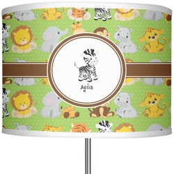 "Safari 13"" Drum Lamp Shade (Personalized)"