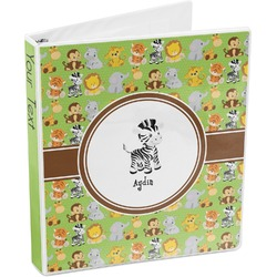 Safari 3-Ring Binder (Personalized)