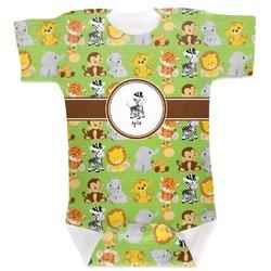 Safari Baby Bodysuit (Personalized)
