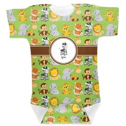Safari Baby Bodysuit (Personalized)