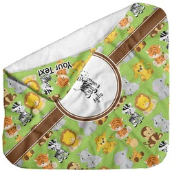 Safari Baby Hooded Towel (Personalized)
