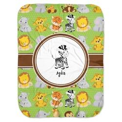 Safari Baby Swaddling Blanket (Personalized)