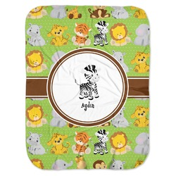 Safari Baby Swaddling Blanket (Personalized)