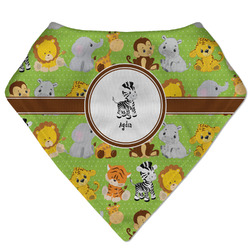 Safari Bandana Bib (Personalized)