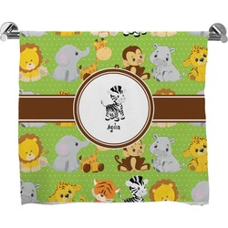 Safari Full Print Bath Towel (Personalized)