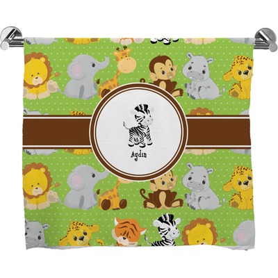 Safari Bath Towel (Personalized)