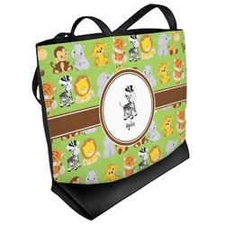 Safari Beach Tote Bag (Personalized)