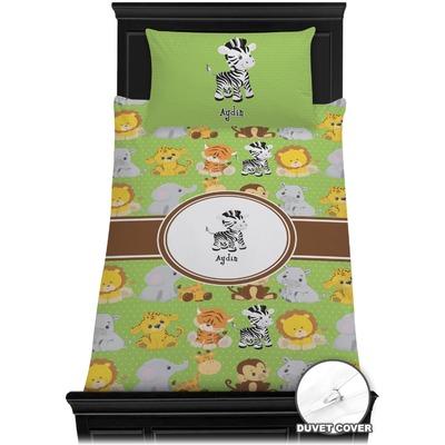 Safari Duvet Cover Set - Toddler (Personalized)