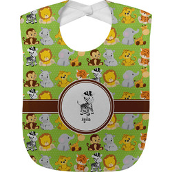 Safari Baby Bib (Personalized)