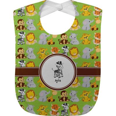 Safari Baby Bib (Personalized)