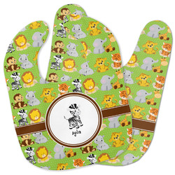 Safari Baby Bib w/ Name or Text