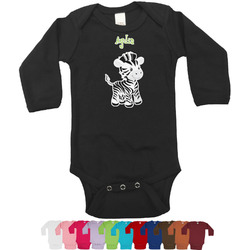 Safari Long Sleeves Bodysuit - 12 Colors (Personalized)