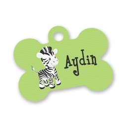 Safari Bone Shaped Dog Tag (Personalized)