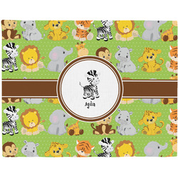 Safari Placemat (Fabric) (Personalized)