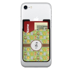 Safari Cell Phone Credit Card Holder (Personalized)