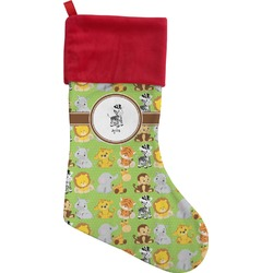 Safari Christmas Stocking (Personalized)