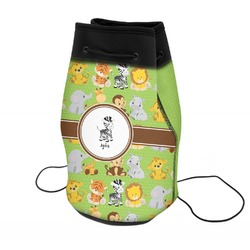 Safari Neoprene Drawstring Backpack (Personalized)