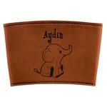 Safari Leatherette Mug Sleeve (Personalized)