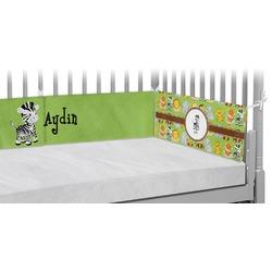Safari Crib Bumper Pads (Personalized)