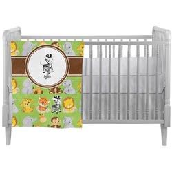 Safari Crib Comforter / Quilt (Personalized)