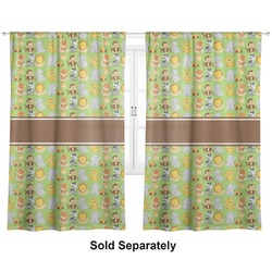 "Safari Curtains - 20""x54"" Panels - Lined (2 Panels Per Set) (Personalized)"