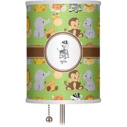 """Safari 7"""" Drum Lamp Shade (Personalized)"""
