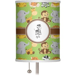 "Safari 7"" Drum Lamp Shade (Personalized)"