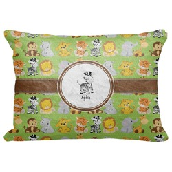 "Safari Decorative Baby Pillowcase - 16""x12"" (Personalized)"