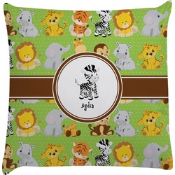 Safari Decorative Pillow Case (Personalized)