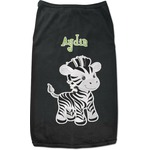 Safari Black Pet Shirt (Personalized)