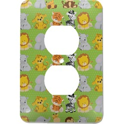 Safari Electric Outlet Plate (Personalized)