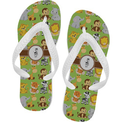 Safari Flip Flops - XSmall (Personalized)